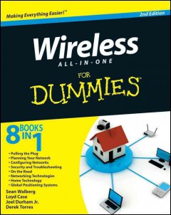 Wireless All-in-one for Dummies Book Cover
