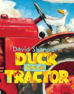 Duck on A Tractor Book Cover