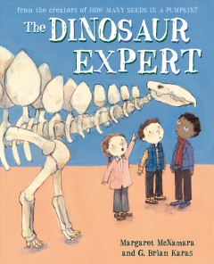The Dinosaur Expert Book Cover