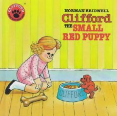 Clifford, the Small Red Puppy Book Cover
