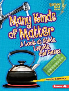 Many Kinds of Matter Book Cover
