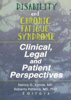 Disability and Chronic Fatigue Syndrome