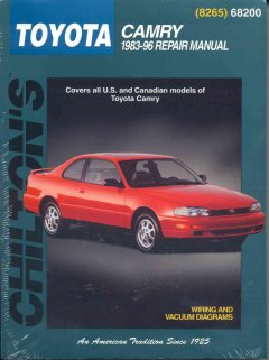 Chilton's Toyota Camry 1983-96 Repair Manual