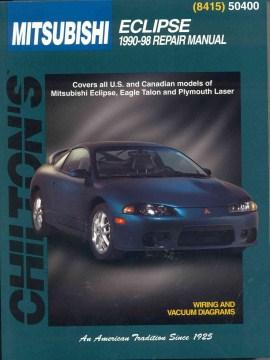 Chilton's Mitsubishi Eclipse