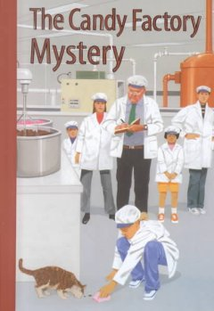 The Candy Factory Mystery Book Cover