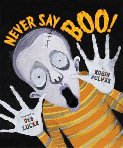 Never Say Boo! Book Cover