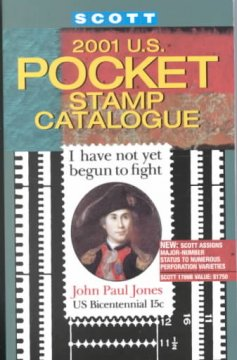 Scott 2001 U.S. Pocket Stamp Catalogue