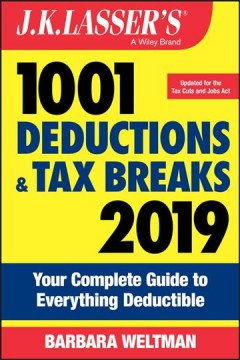 J.K. Lasser's 1001 Deductions and Tax Breaks 2019 Book Cover