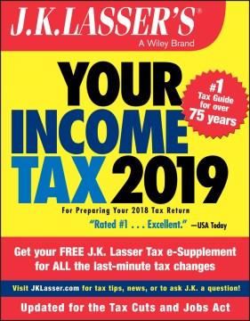 J.k. Lasser's your Income Tax 2019 Book Cover