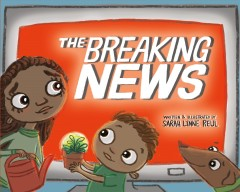 The Breaking News Book Cover