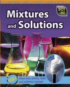Mixtures and Solutions Book Cover