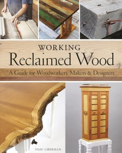 Working Reclaimed Wood Book Cover