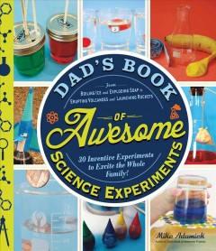 Dad's Book of Awesome Science Experiments Book Cover