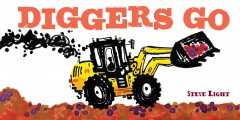 Diggers Go Book Cover