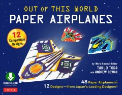 Out of This World Paper Airplanes Ebook Book Cover