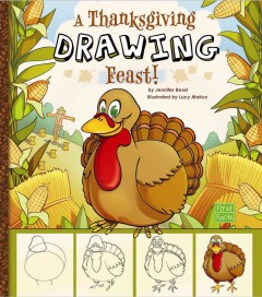 A Thanksgiving Drawing Feast! Book Cover
