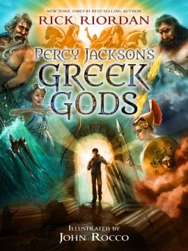 Percy Jackson's Greek Gods Book Cover