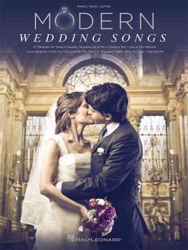 Modern Wedding Songs Songbook
