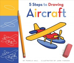 5 Steps to Drawing Aircraft Book Cover