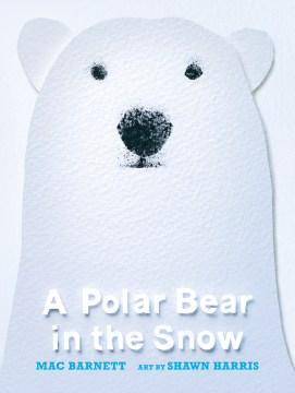 A Polar Bear in the Snow