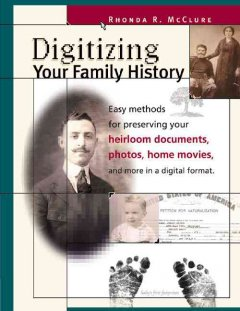 Digitizing your Family History Book Cover