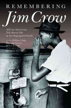 Remembering Jim Crow Book Cover