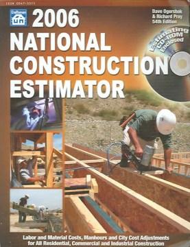 2006 National Construction Estimator