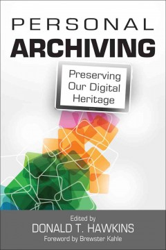 Personal Archiving Book Cover