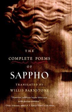 The Complete Poems of Sappho Book Cover