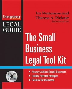 Small Business Legal Tool Kit (with CD-ROM)
