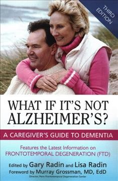 What If It's Not Alzheimer's? Book Cover