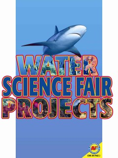 Water Science Fair Projects Book Cover