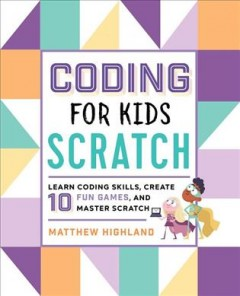 Coding for Kids Scratch Book Cover