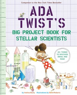 Ada Twist's Big Project Book for Stellar Scientists Book Cover