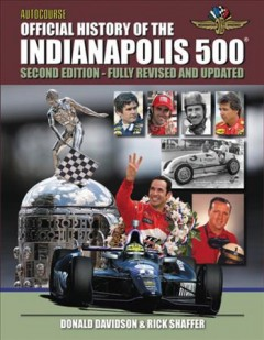 Autocourse Official History of the Indianapolis 500 Book Cover