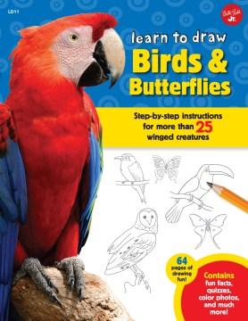 Learn to Draw Birds & Butterflies