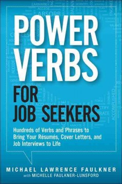 Power Verbs For Job Seekers Book Las Vegas Clark County Library