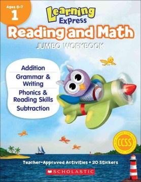 LEARNING EXPRESS READING AND MATH JUMBO WORKBOOK, GRADE 1