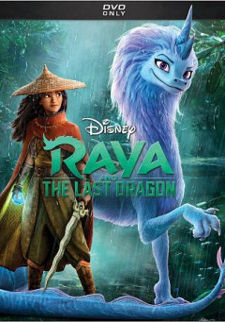 RAYA AND THE LAST DRAGON : DVD : VIDEORECORDING