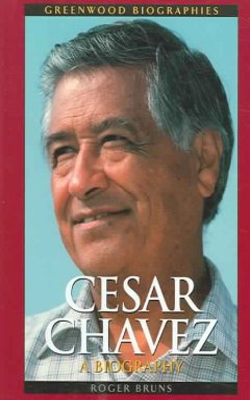 Cesar Chavez: a biography, book cover