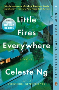 #4 - Little Fires Everywhere, book cover