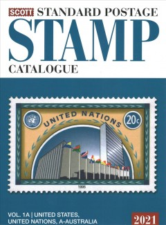Scott 2021 Standard Postage Stamp Catalogue