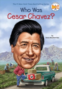 Who Was Cesar Chavez? book cover