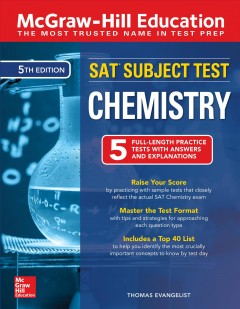 McGraw-Hill Education SAT Subject Test Chemistry