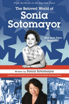 cover of beloved world of Sonia Sotomayor