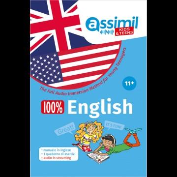 100% English +11