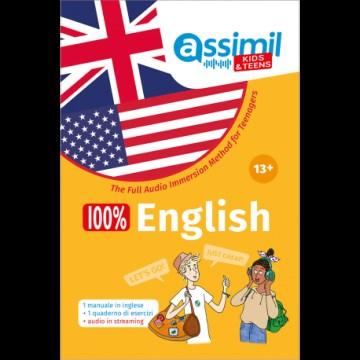 100% English +13