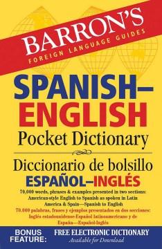 Spanish-English pocket dictionary