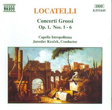 Concerti grossi op. 1, nos. 1-6