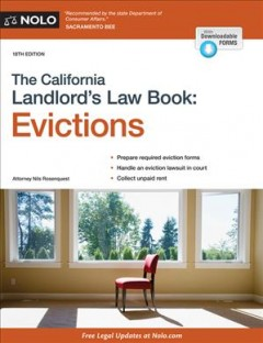 The California Landlord's Law Book